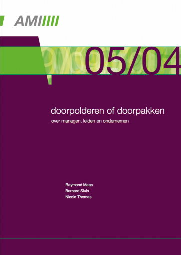 Doorpolderen of doorpakken