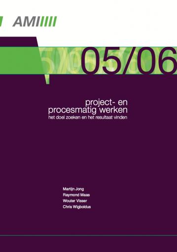 Project- en procesmatig werken