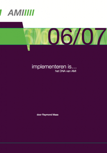 Implementeren is…