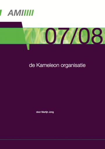 De kameleon organisatie