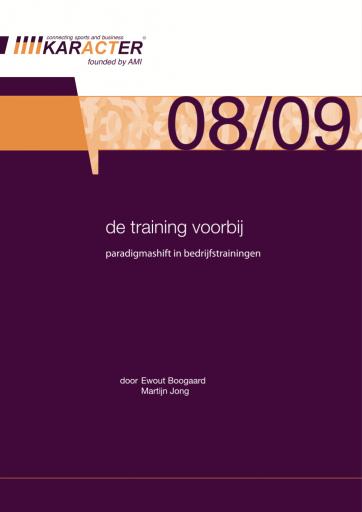 De training voorbij